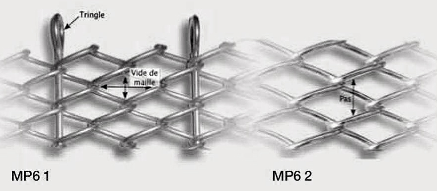 Maille inox - MP6